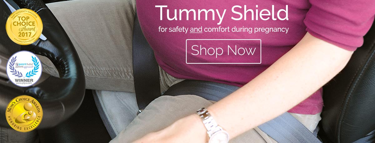 Tummy Shield safer pregnancy driving